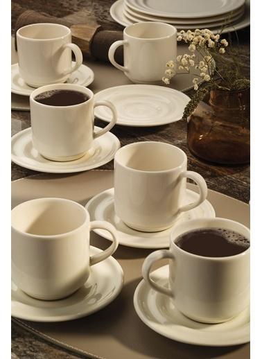 Kütahya Porselen Tuvana Çay Takımıkrem Renkli